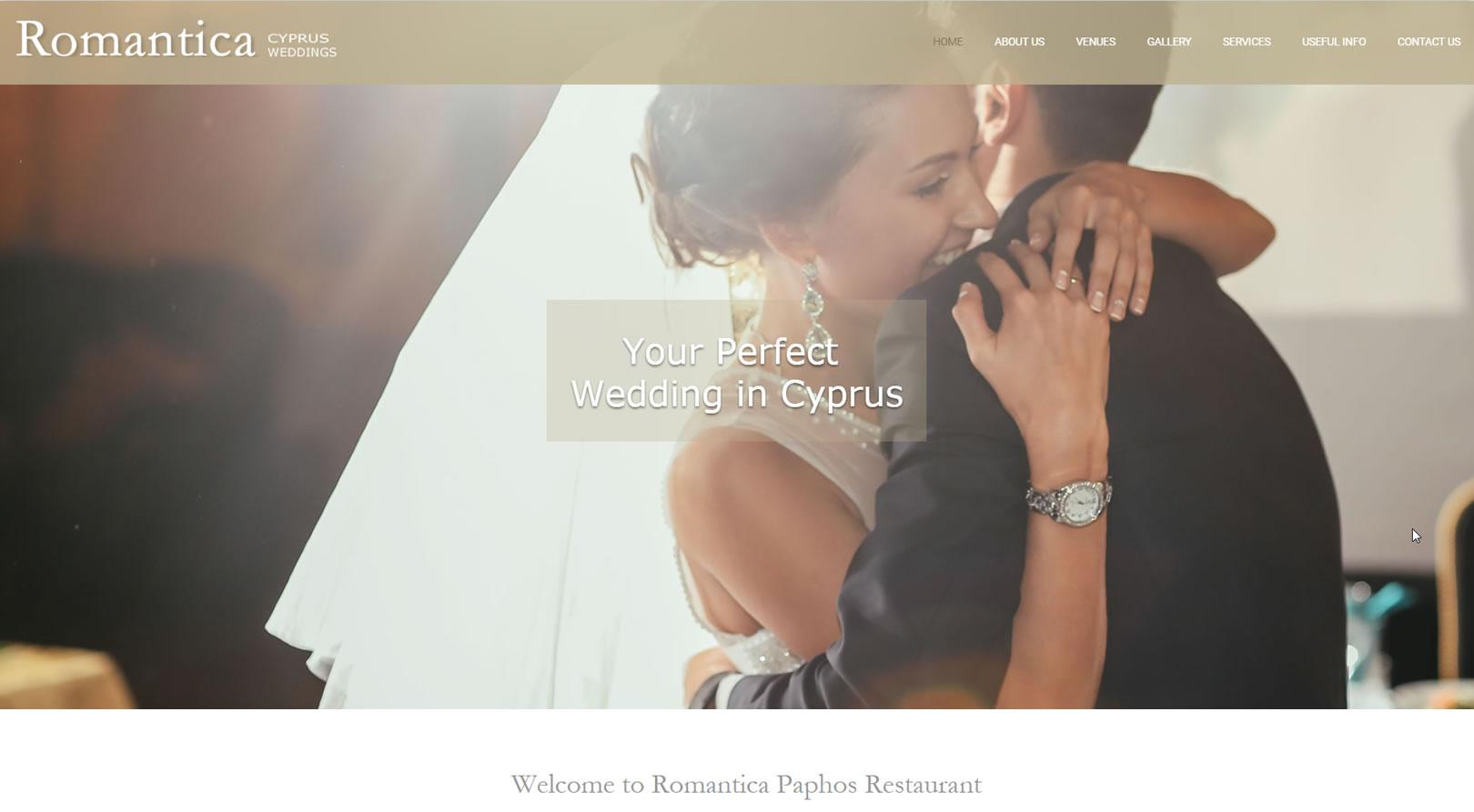 Romantica Weddings Cyprus