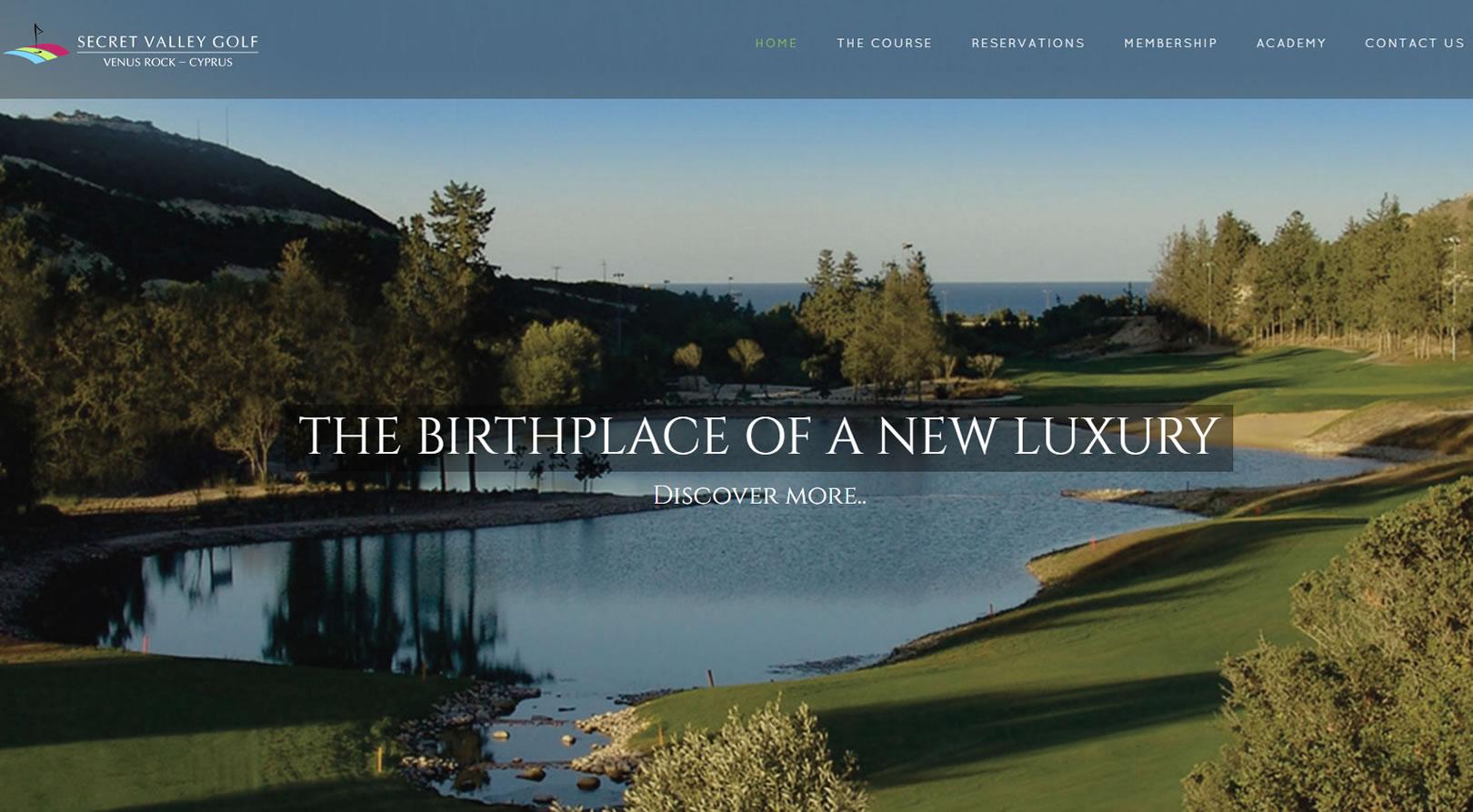 Secret Valley Golf Club Cyprus
