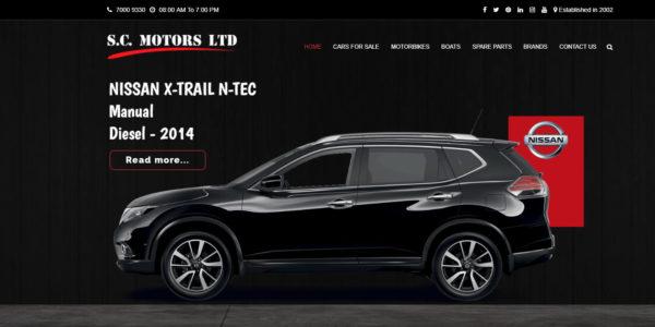 SC Motors Ltd by PWS