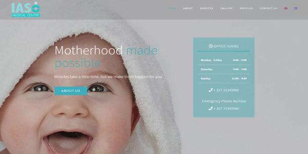 iaso ivf pws web design cyprus